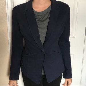 Navy Blue Professional Work Interview Blazer